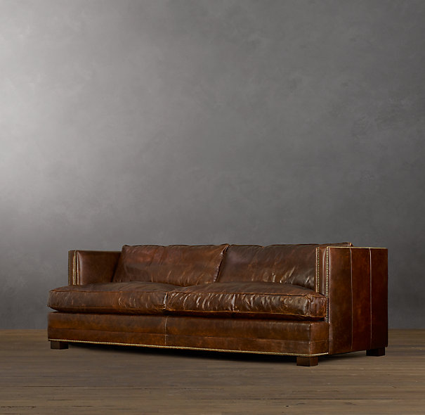 Easton Leather Sofas Different Lengths And Depths