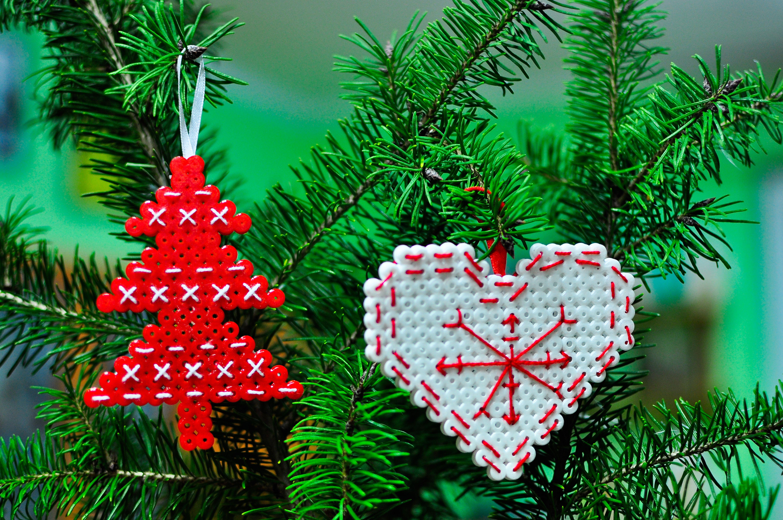 Haft Krzyzykowy Christmas Ornaments Novelty Christmas Holiday Decor
