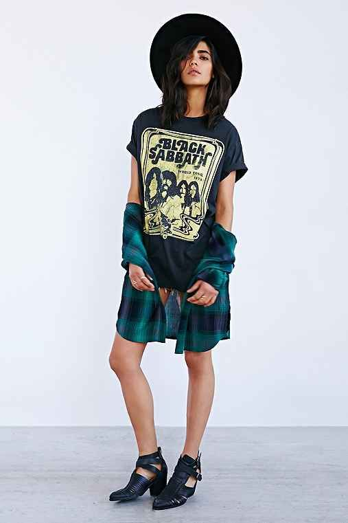 Black Sabbath Tee Dress Urban Outfitters Jagermeister