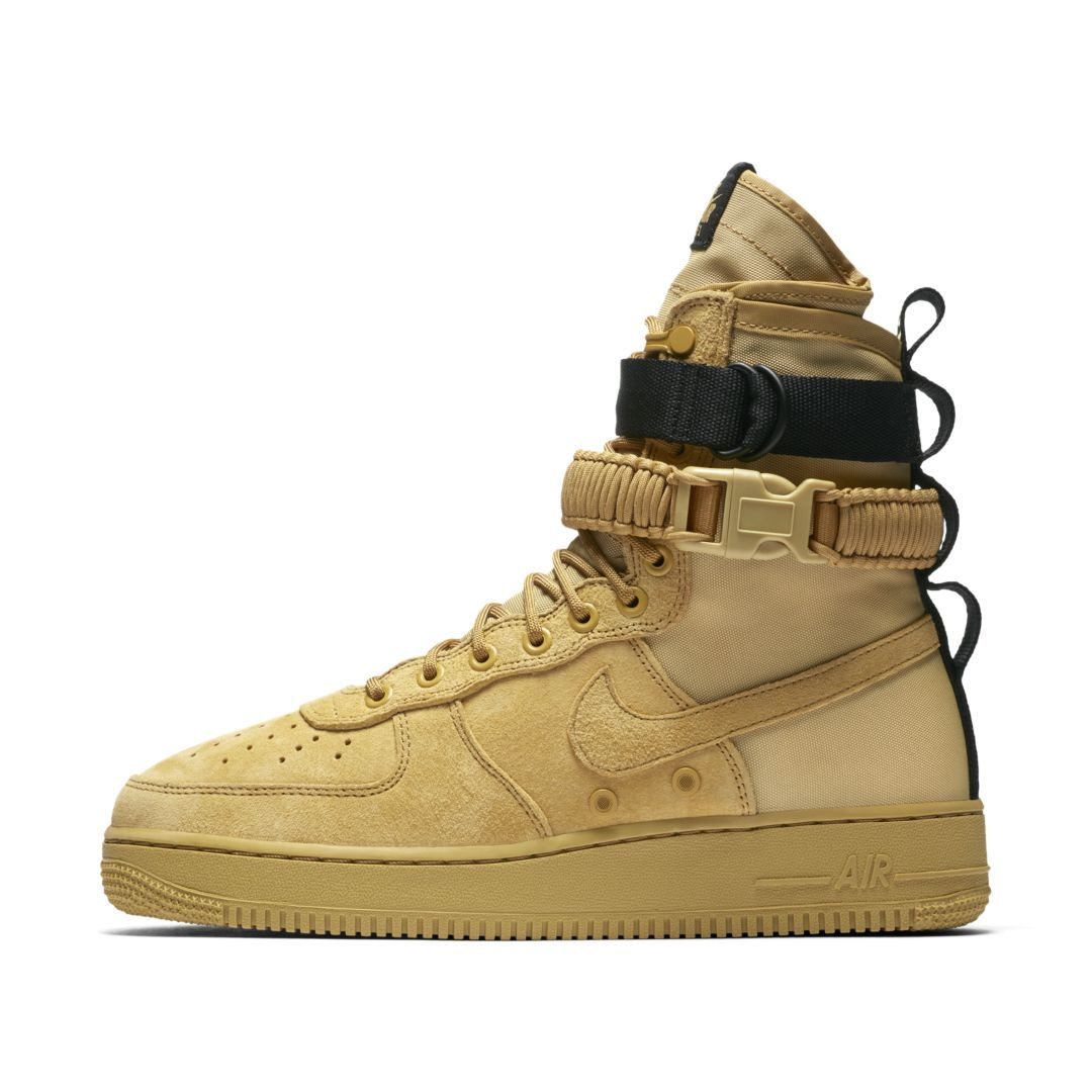 size 40 e7ff3 15e82 Nike SF Air Force 1 Men s Boot Size 10.5 (Club Gold)