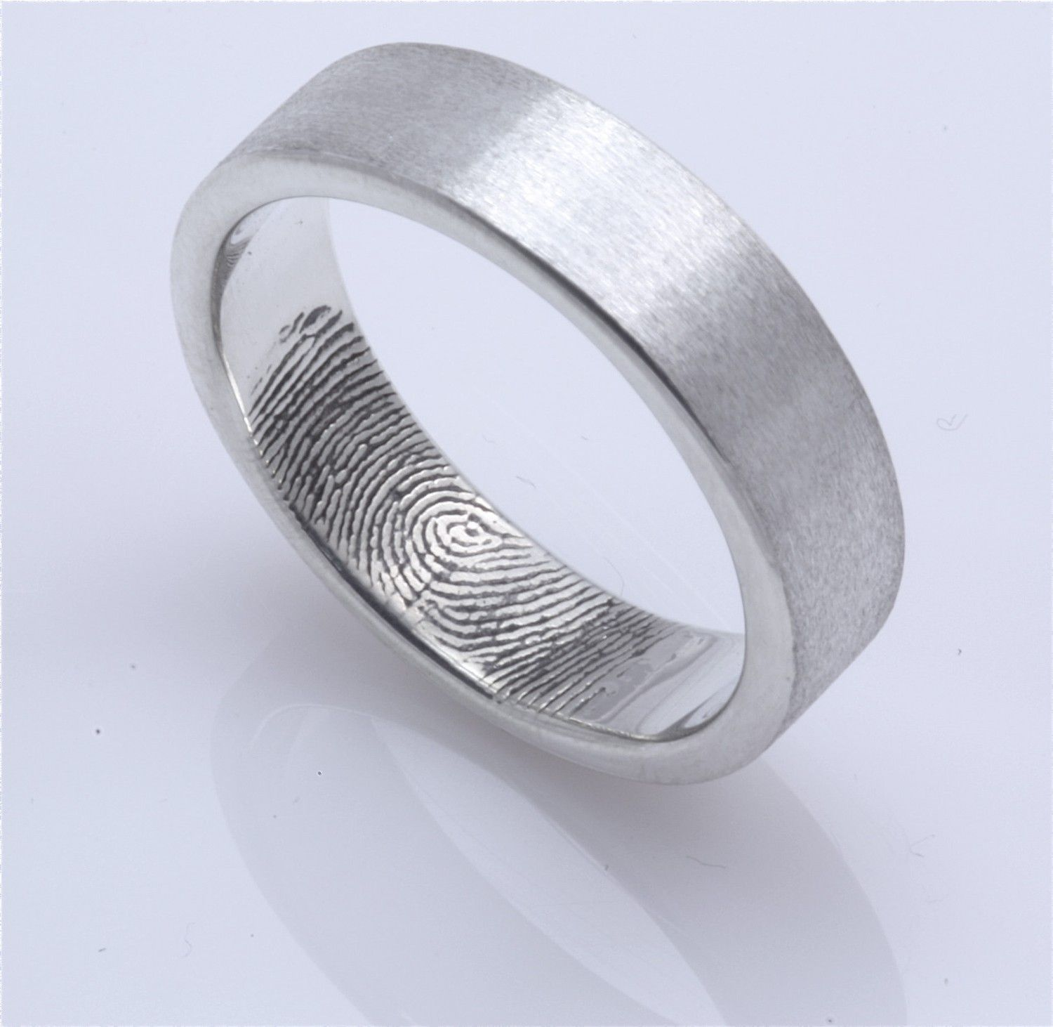 ring rings steel world changed wedding couple has unique bands us pin new the finger promise print stainless