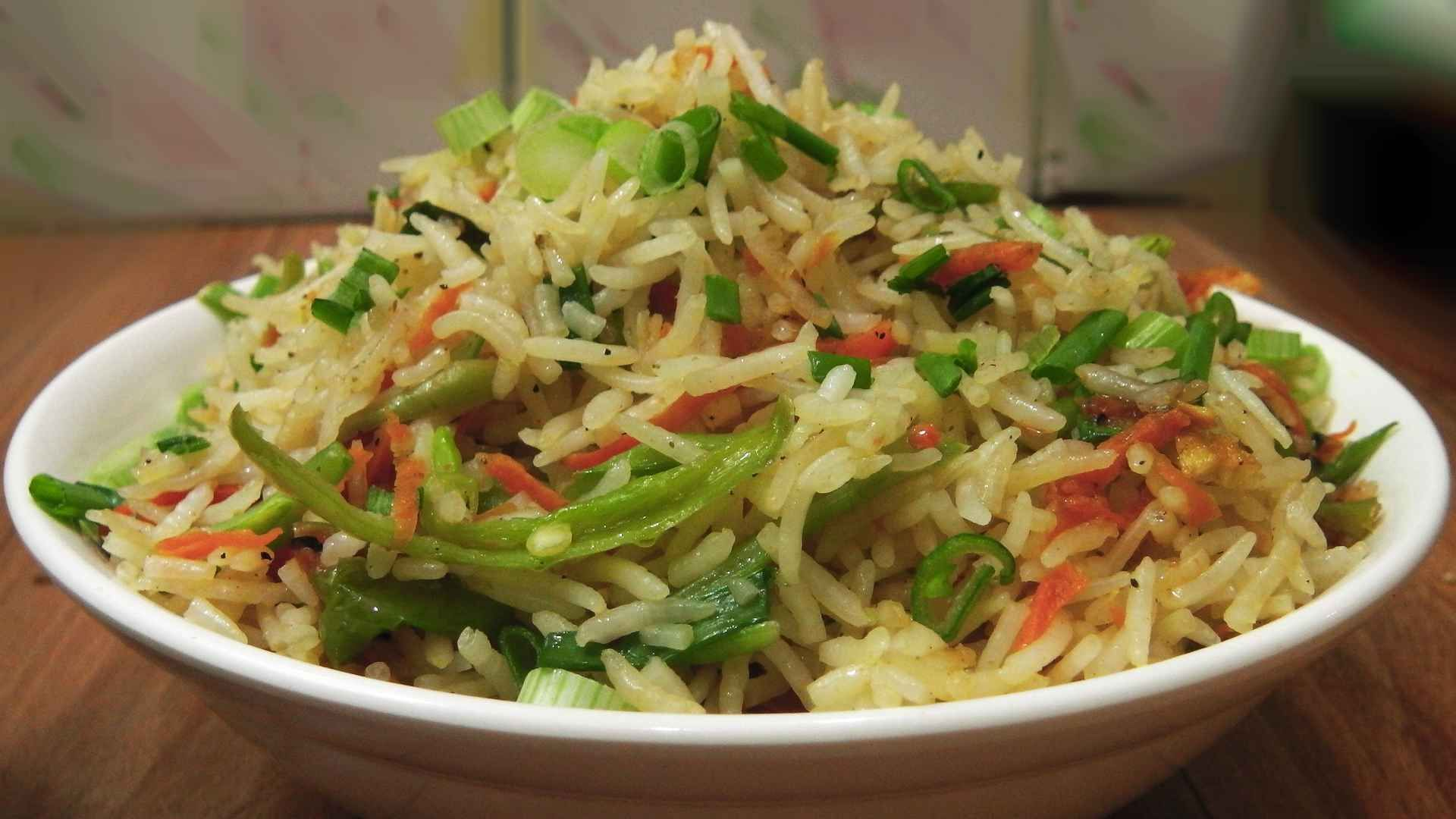 Quick Fried Rice Recipe Food, Fried rice, Food handling