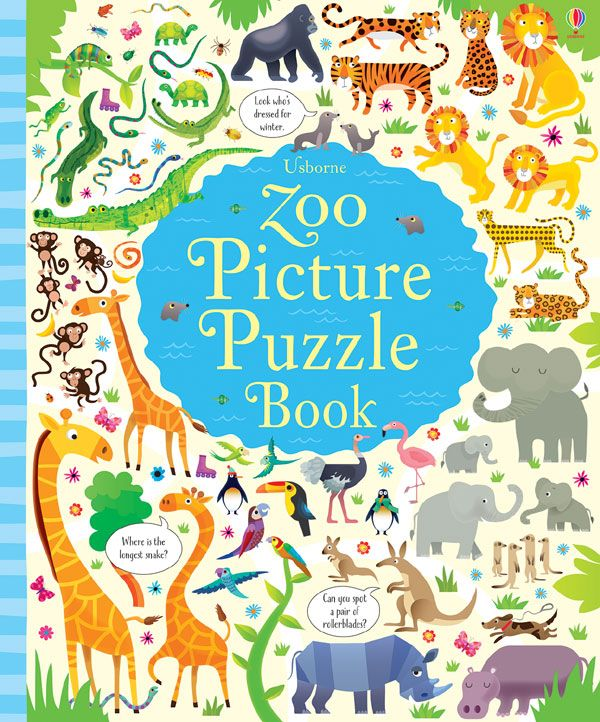 Zoo Puzzles Zoo Pictures Puzzle Books Picture Puzzles