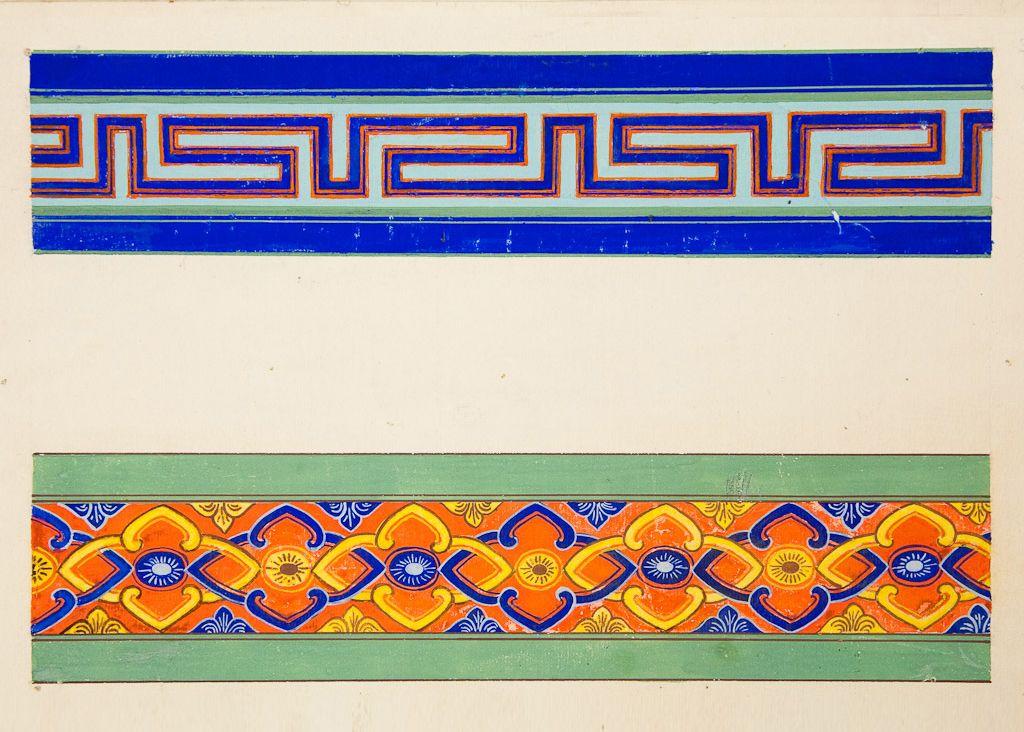 монгольский орнамент