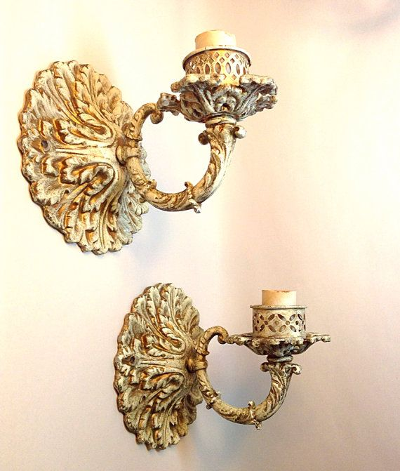 1930's-1940's French Provincial Wall Sconce Electrified by HUEisit