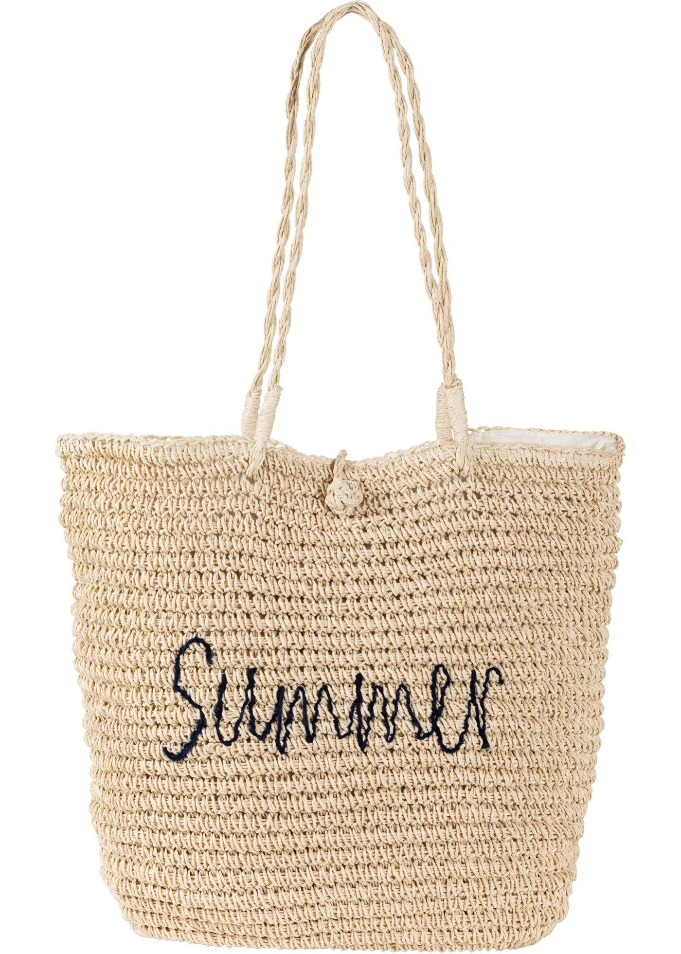 e1bdb67483cab Ein zuverlässiger Begleiter für den Besuch am Strand oder im Freibad ist  die Strandtasche. Der