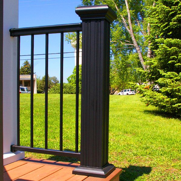 Best Afco Aluminum Newel Post Cover Kit With Images Newel 400 x 300