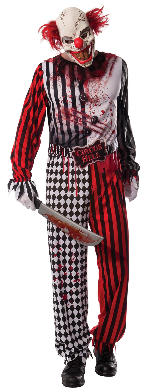 Men S Evil Clown Costume Shopinzar Com Fancy Dress Halloween Costumes Clown Fancy Dress Evil Clown Costume