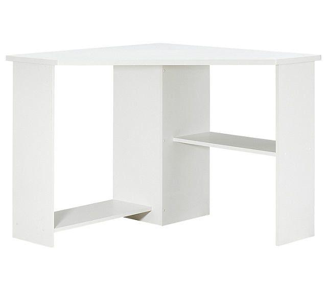 bureau d 39 angle poki blanc bureaux but 49 bureau pinterest bureau. Black Bedroom Furniture Sets. Home Design Ideas