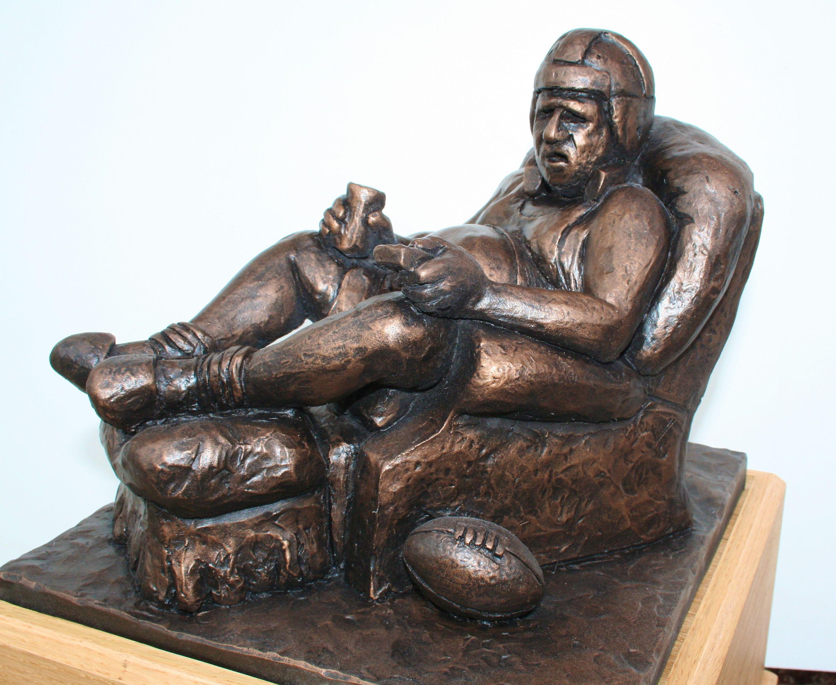 Awesome Armchair Quarterback Fantasy Football Trophy  Http://FantasyTrophies.com