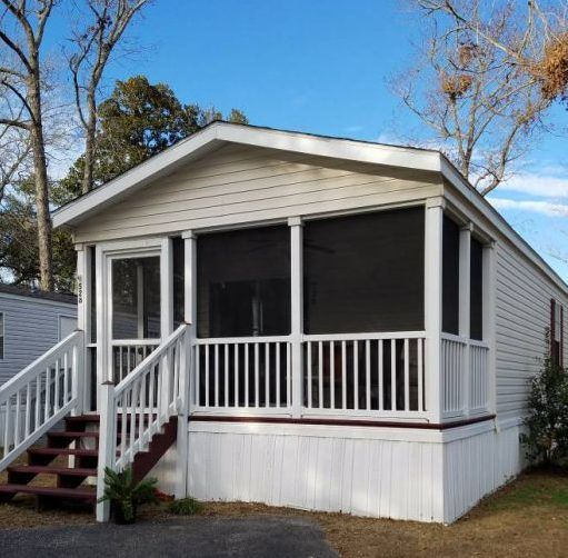 Our 9 Favorite Craigslist Mobile Home Ads Found In June 2017 Mobile Home Remodeling Mobile Homes Front Porch Addition