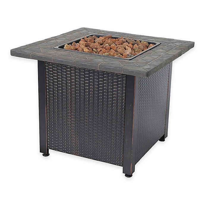 Photo of UniFlame® Endless Summer® LP Outdoor Gas Fire Pit | Bed Bath & Beyond