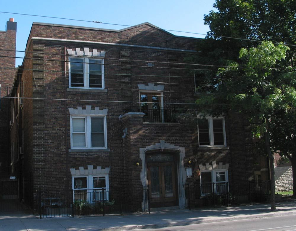 Kew Beach Mansions Apartments 2163 Queen St. East Toronto ...