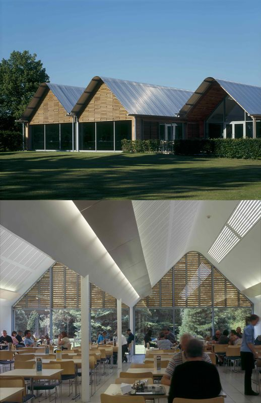 anglesey abbey visitor centre - Google Search | Architecture