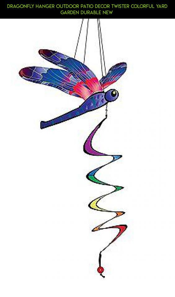 Dragonfly Hanger Outdoor Patio Decor Twister Colorful Yard Garden Durable New  #outdoor #technology #decor #products #drone #kit #camera #shopping #gadgets #fpv #dragonfly #plans #racing #parts #tech