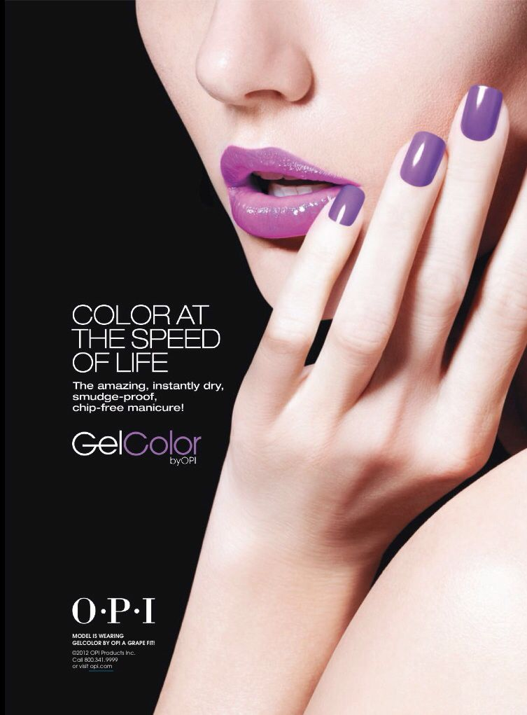 O.P.I. Cosmetic Advertising   Vernis   Pinterest   Fachadas y Me gustas