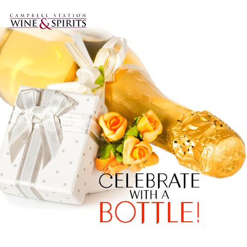 This Valentine's Day make early plans with #CSWS and send a message with a bottle! Visit our #winestore at 707 North Campbell Station Road, Farragut, TN 37934 for a great selection! Always of good cheer!