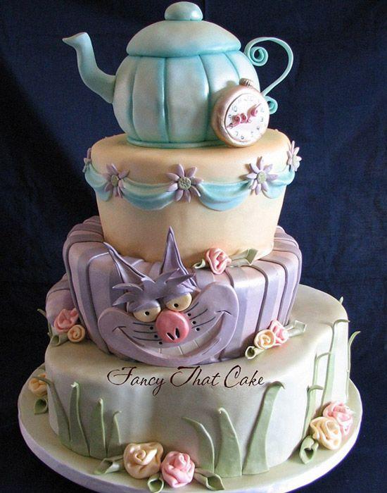 crazy cakes aussergew hnliche torten torten kuchen kuchen torten und alice im wunderland. Black Bedroom Furniture Sets. Home Design Ideas