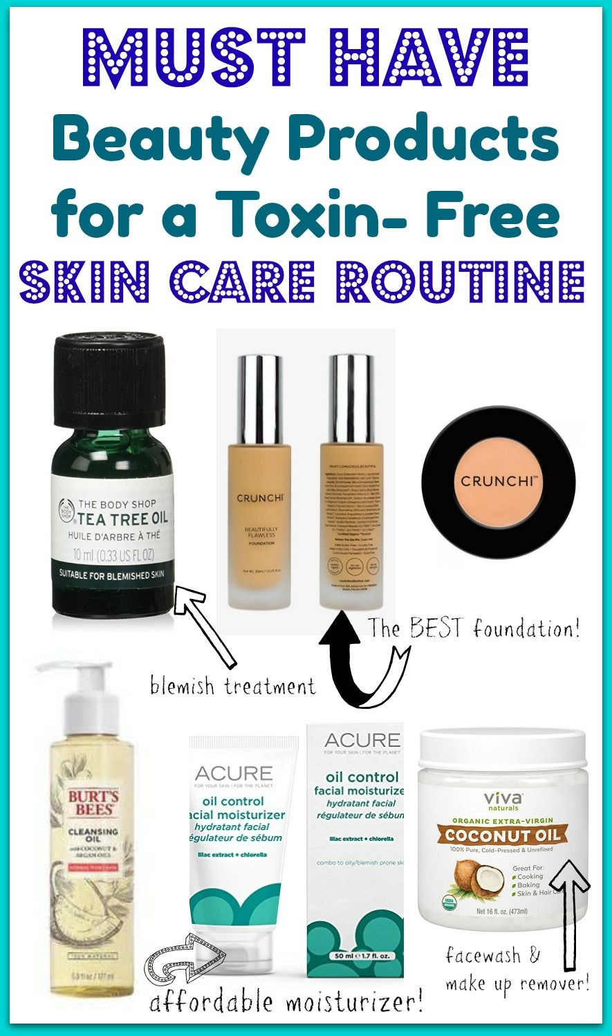 The Best Toxin Free Skin Care And Make Up Products Free Skin Care Products Toxin Free Makeup Anti Aging Skin Products