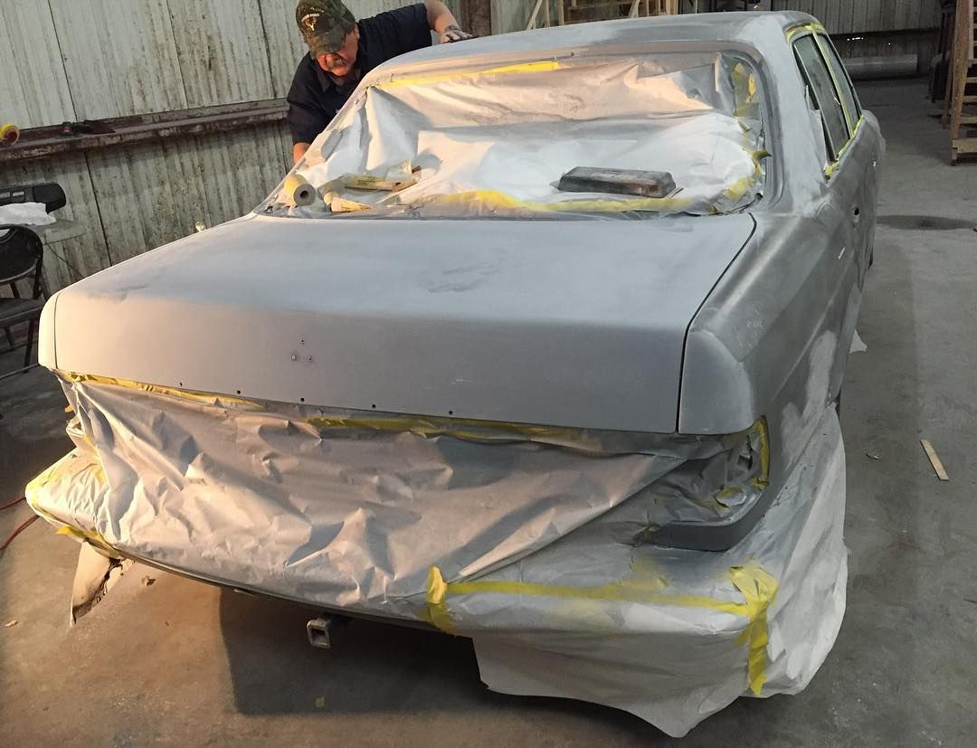 Getting it stripped down! This Mercedes has seen better