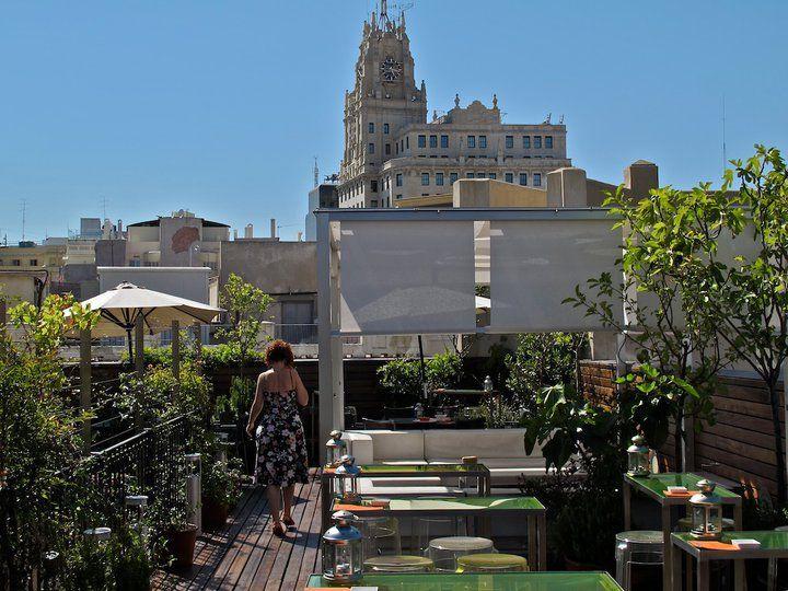 Hotel De Las Letras Atico Terraza I Love Madrid House