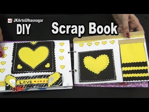 How To Make A Scrapbook 12 Greeting Cards Scrapbook Valentines