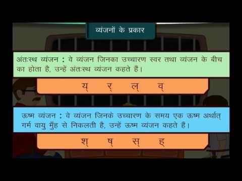 Vyanjan hindi grammar | hindi grammar | Pinterest