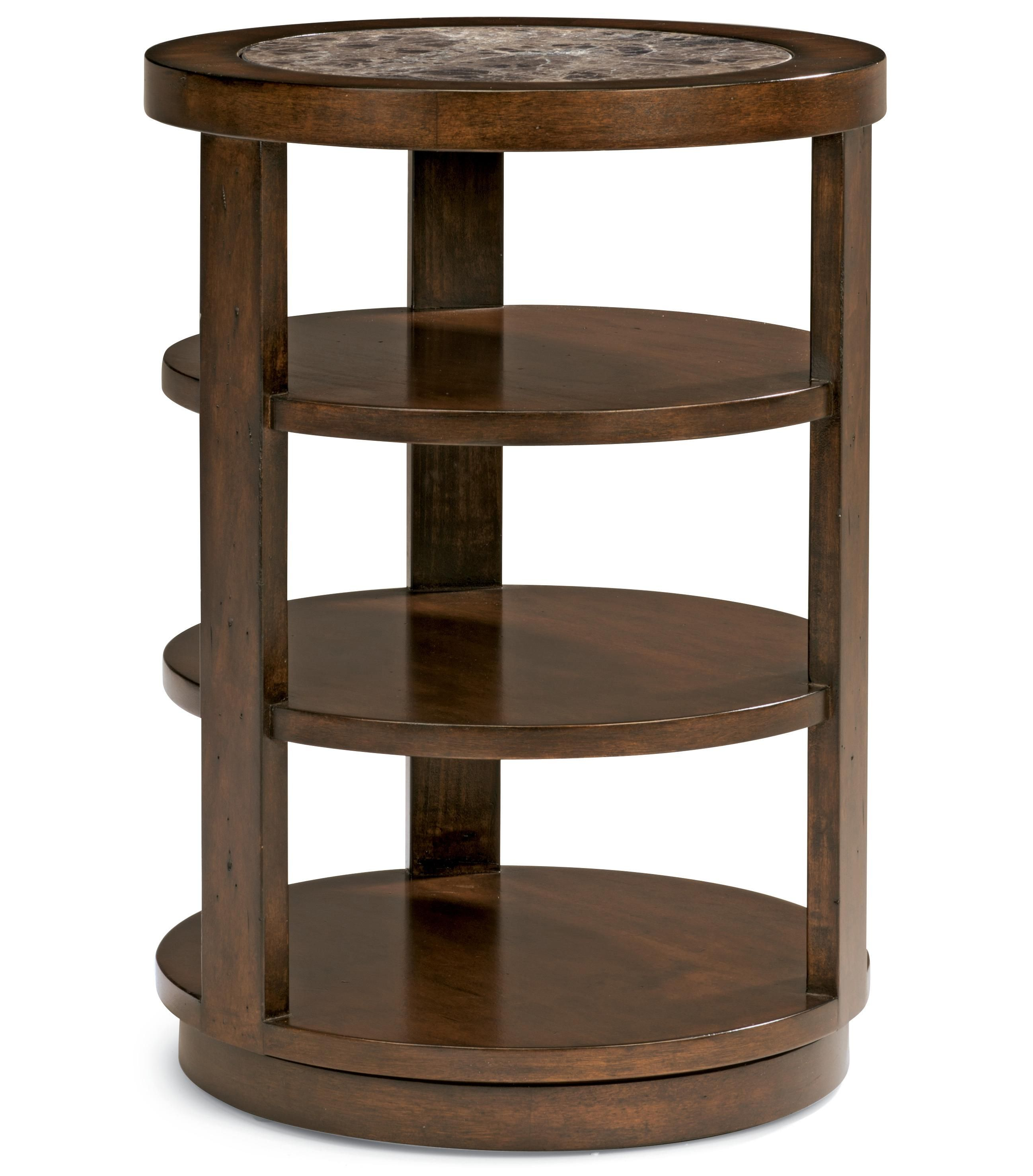 Accent Chair Side Table by Flexsteel