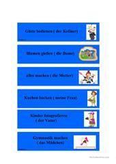 Das Passiv Arbeitsblatt - Kostenlose DAF Arbeitsblätter   Sprache ...