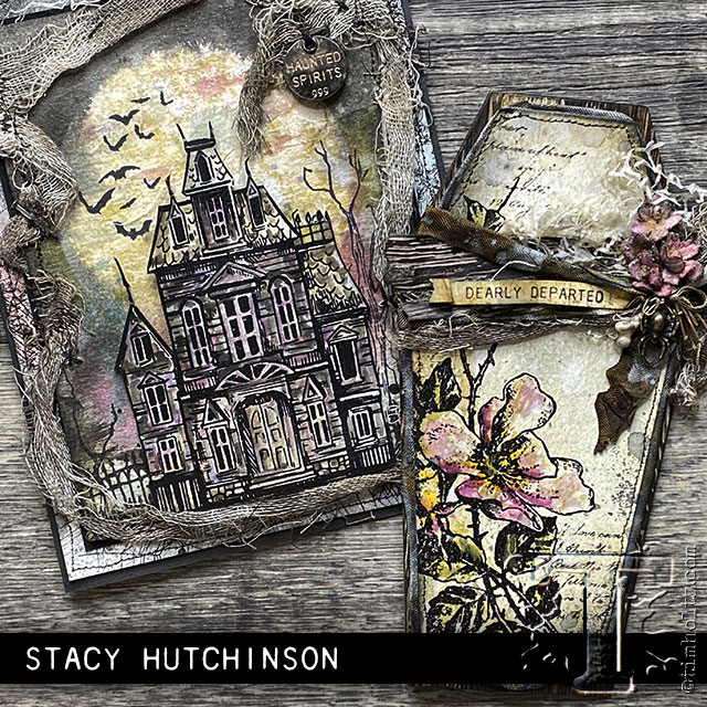 Tim Holtz Stampers Anonymous Halloween 2020 2020 stampers anonymous halloween:   Tim Holtz in 2020   Tim holtz
