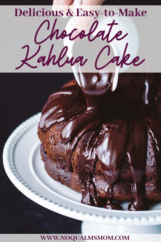 Delicious Easy To Make Chocolate Kahlua Cake Easy Bundt Cake Recipes Kahlua Cake Devils Food Cake Mix Recipe