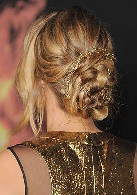 Nieuwe haarstyle op de Fashion Week.