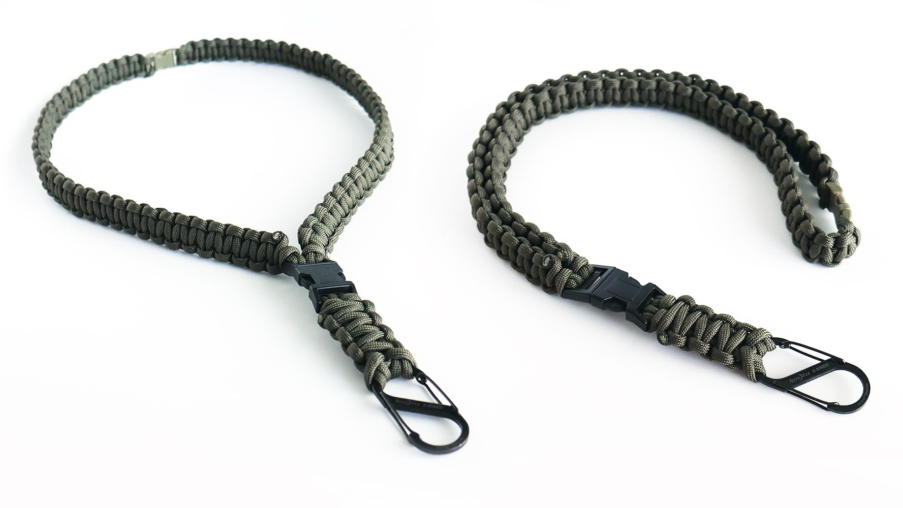 How To Make A Cobra Knot Paracord Neck Lanyard Tutorial Youtube