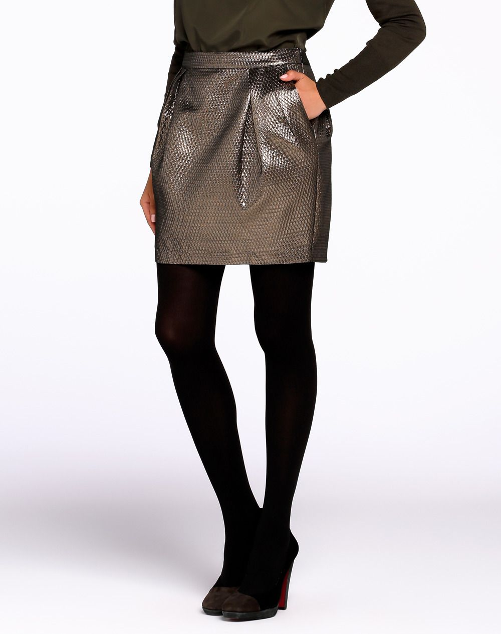 De Mytheresa Guipur Encaje De Minifalda Minifalda OPZiXuk