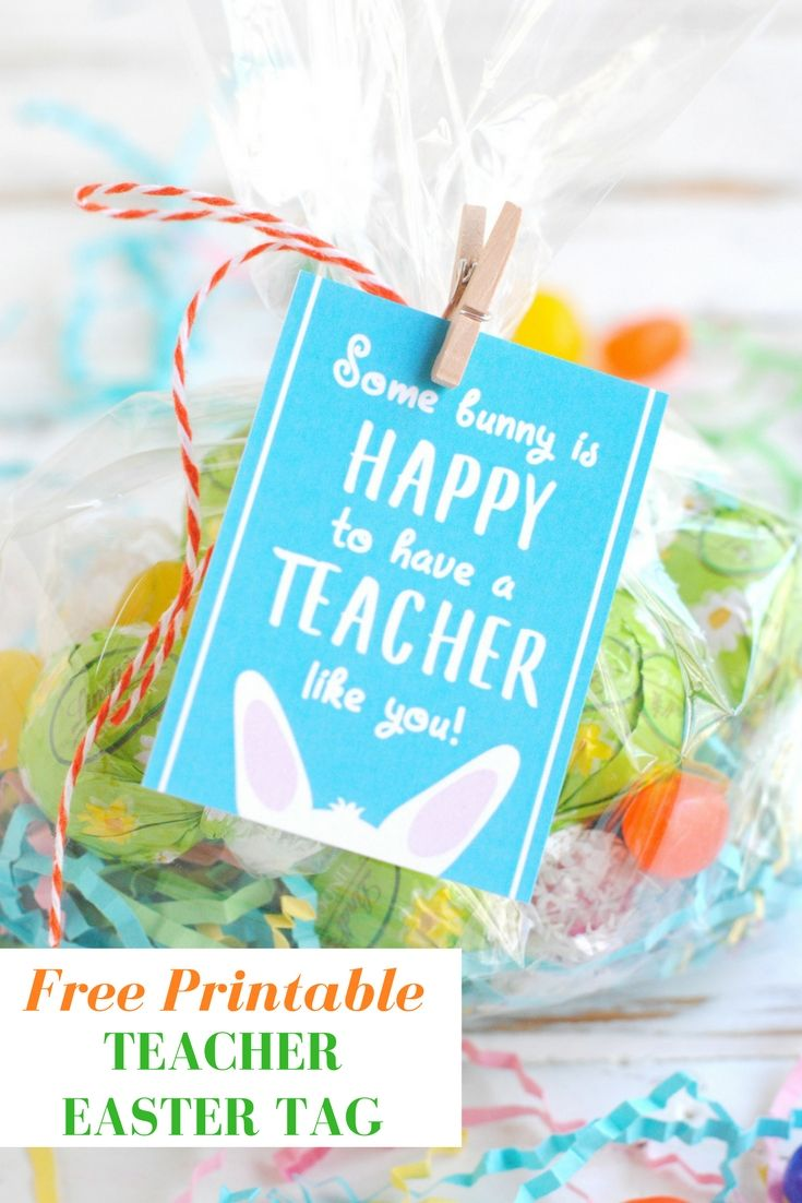 Free printable teacher easter tags free printable easter and teacher free printable teacher easter tags negle Image collections