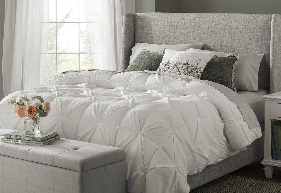 Alrai Upholstered Low Profile Standard Bed Contemporary