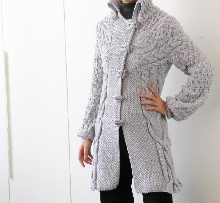 a611f8761ebafe Minimissimi Sweater Coat