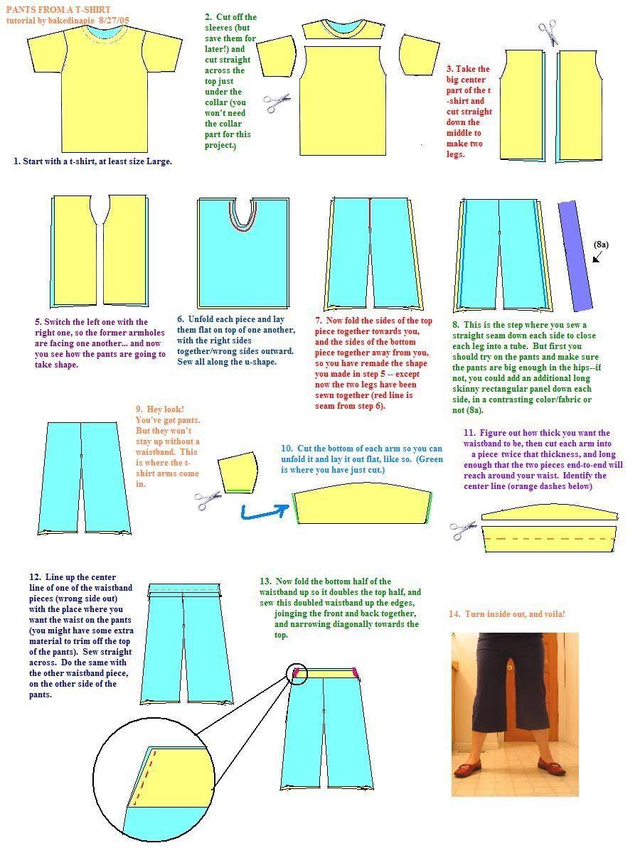 pants tutorial | Costura, Ropa y Patrones