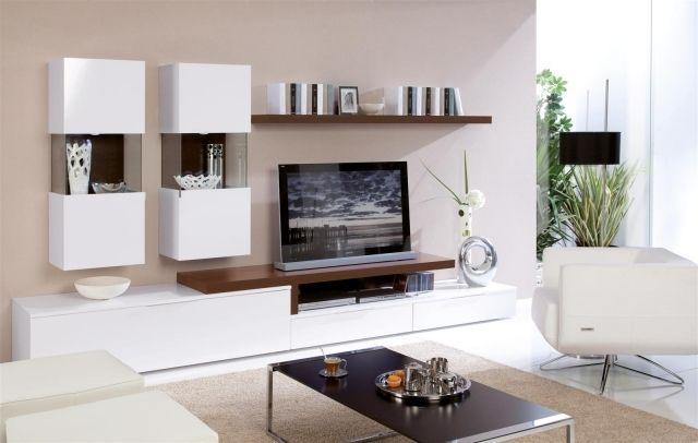 Meuble TV moderne - 30 designs uniques et conseils pratiques ...