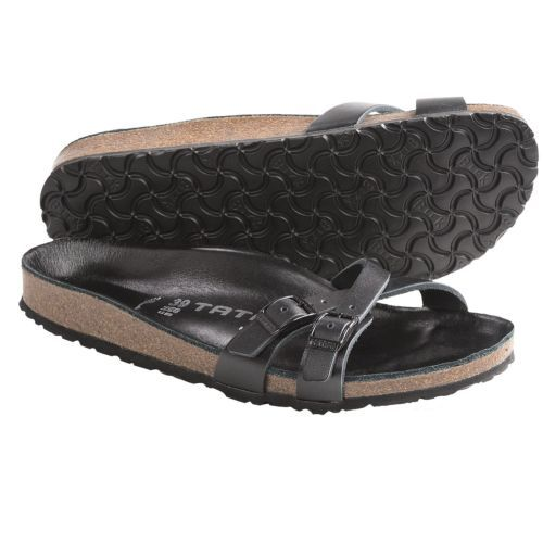 04505f80466 Black-Leather-Tatami-by-Birkenstock-Almere-Sandals-41-US-10-N-MSRP-150