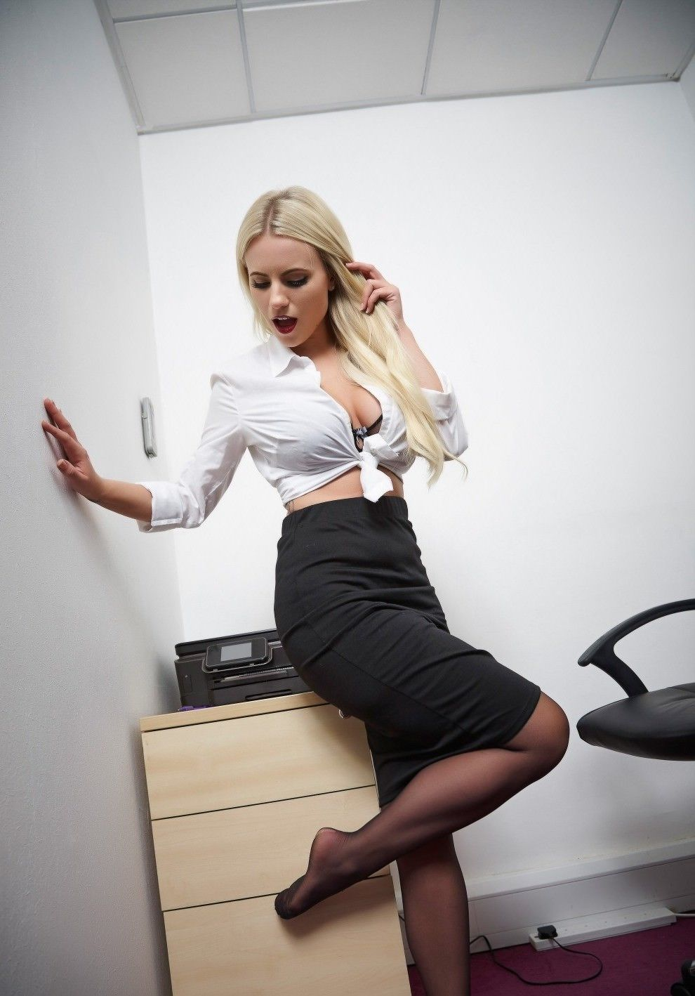 Office lady sexy