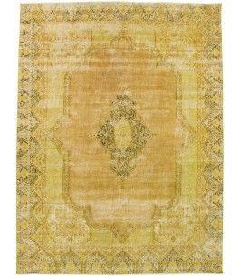 Vintage Teppich Dieser Schöne Vintage Teppich 00011657 Stammt Aus Pakistan  Und Hat Die Farbe Braun, Gelb. Der Teppich Ist Aus Hochwertigem Material  Wolle ...