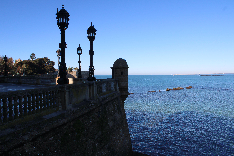 baluarte de la soledad en Cádiz y paisajes que se pueden ver desde él