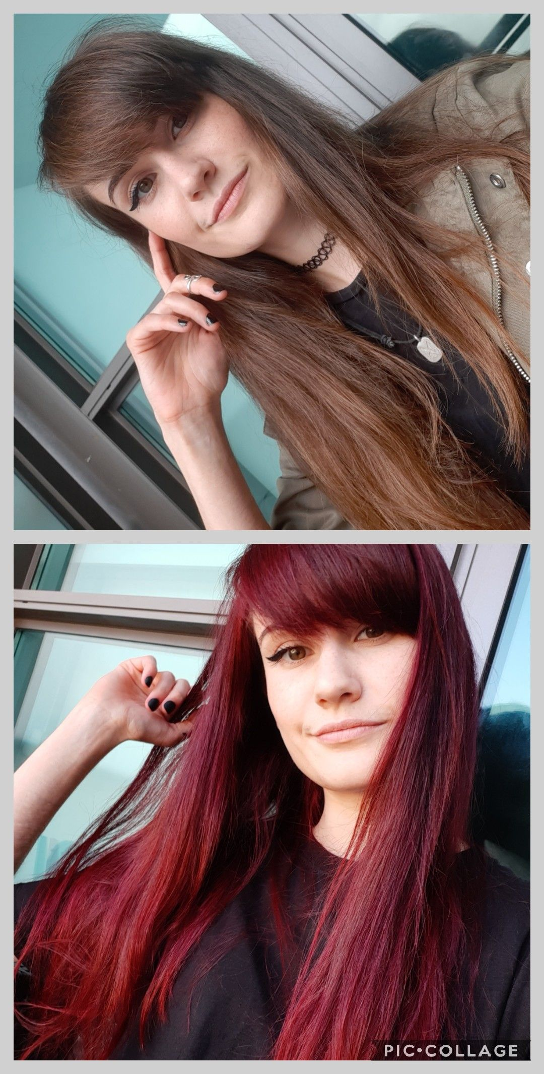 Diy Manic Panic Vampire Red Without Bleach Hair Beauty Skin Deals Me Fashion Love Manic Panic Vampire Red Manic Panic Hair Dye Red Hair Without Bleach