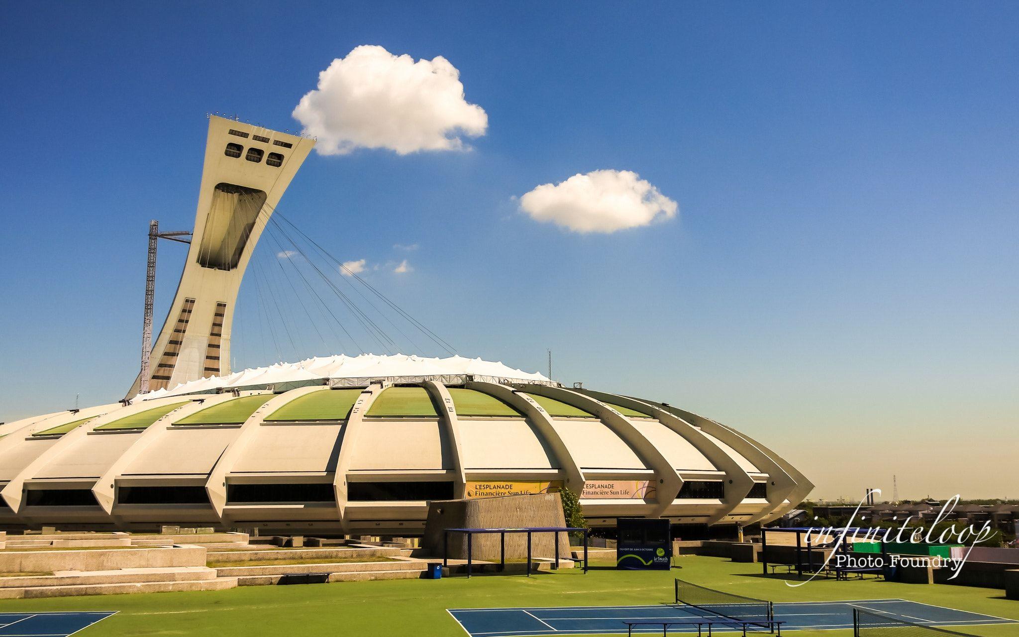 Parc olympique de Montréal - At the commence of Rio Olympics 2016, a ...