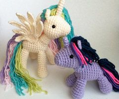 my little pony crochet - Google Search. These are adorable