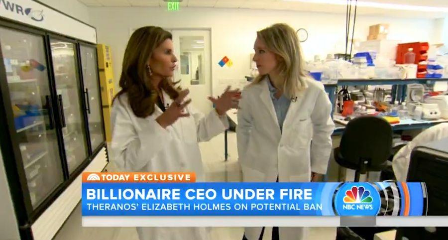 Theranos CEO Elizabeth Holmes Tells Maria Shriver She's