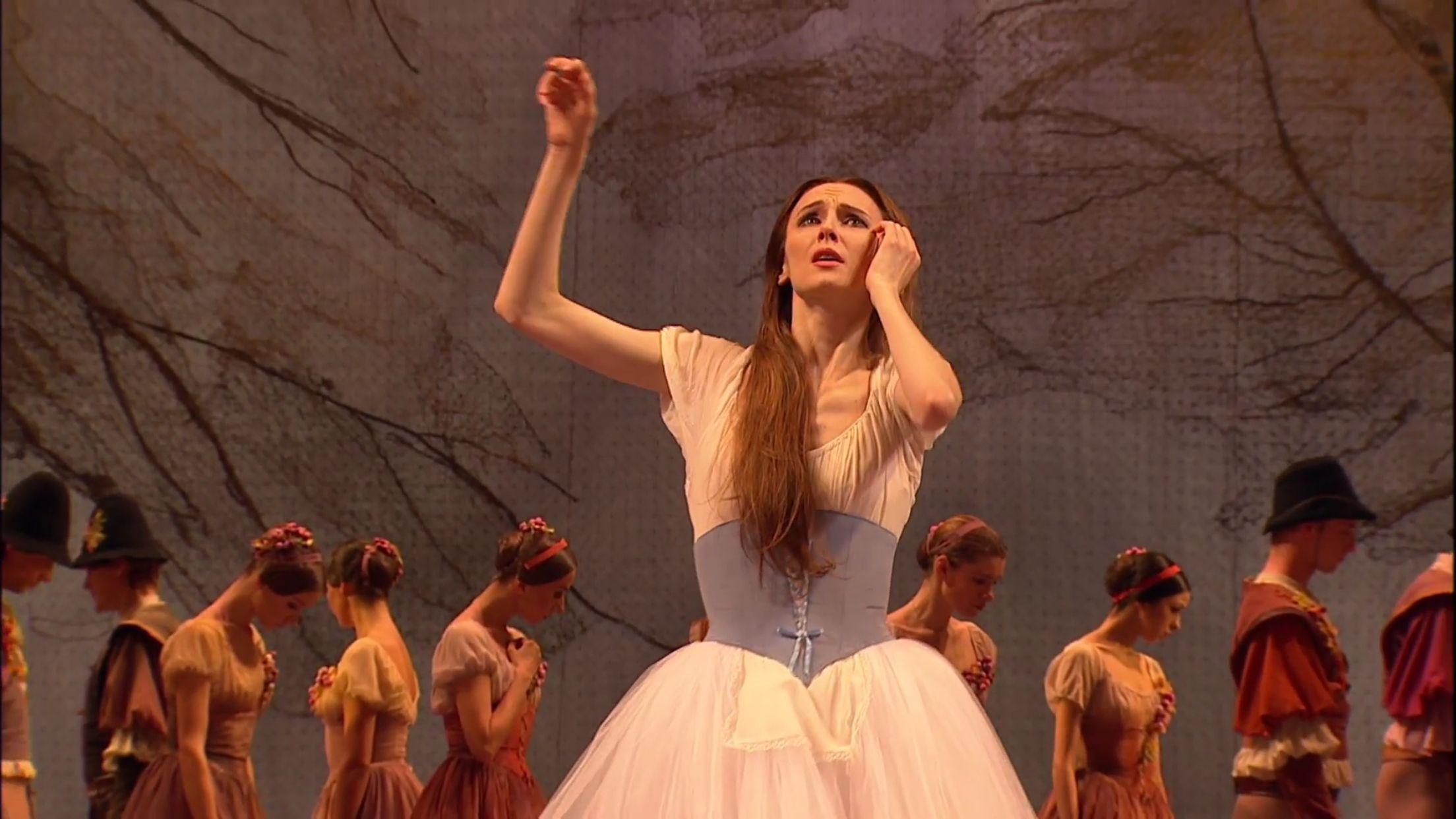 Bolshoi Giselle YouTube Live Stream 11.10.2015 screen captures (by me)