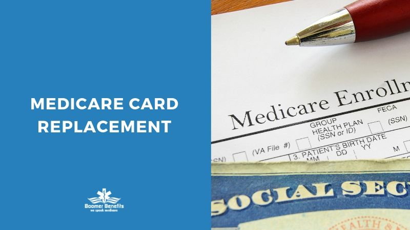 Medicare Card Replacement Online Or In Person Boomer Benefits Medicare Financial Documents Social Security Office