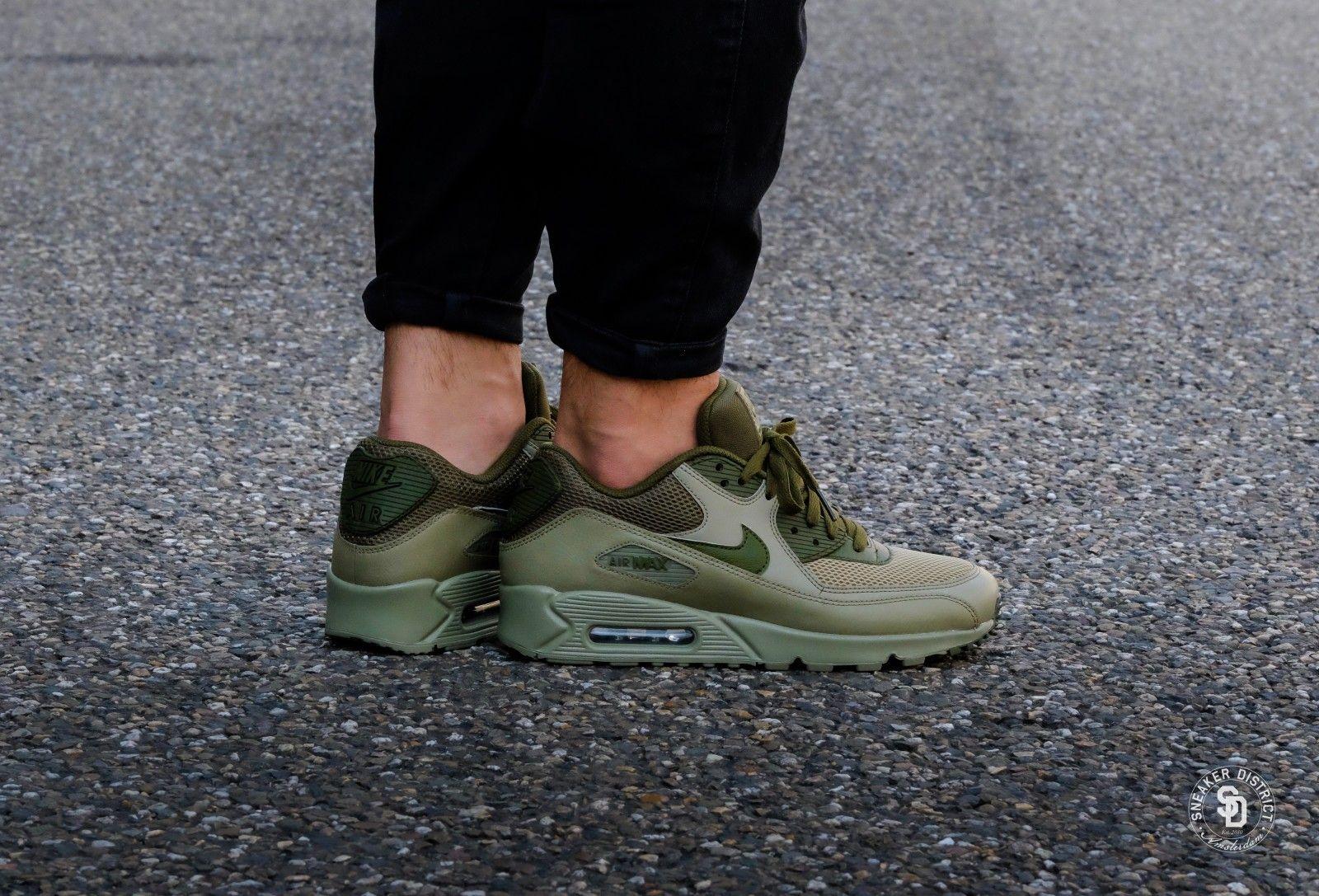 Nike Air Max 90 - Essential Trooper   Legion Green-Trooper - 537384 ... 829a1fb42